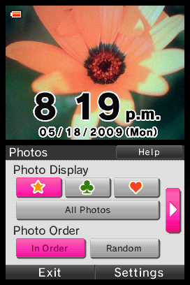 Photo Clock Screenshots