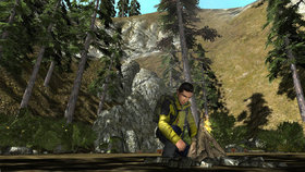 Man vs. Wild Screenshot from Shacknews