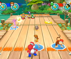 Mario Sports Mix Screenshots