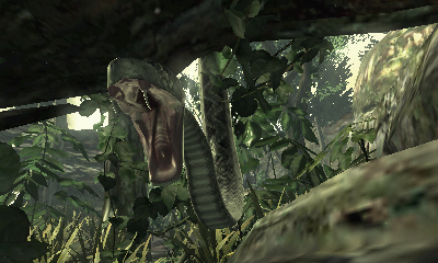 Metal Gear Solid Snake Eater 3D Screenshots