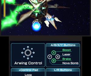 Star Fox 64 3D Screenshots