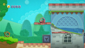 Kirby's Epic Yarn Screenshot from Shacknews