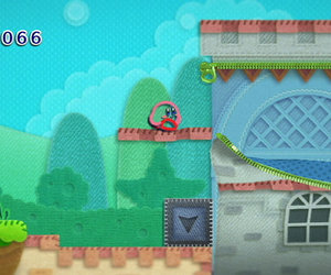 Kirby's Epic Yarn Screenshots