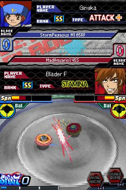 BEYBLADE: Metal Fusion Screenshots