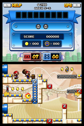 Mario vs. Donkey Kong: Miniland Mayhem Screenshots