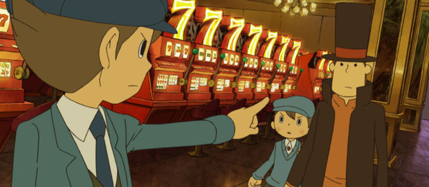 Professor Layton and the Unwound Future News