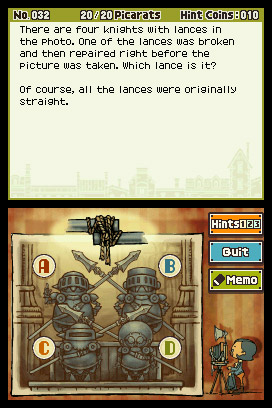 Professor Layton and the Unwound Future Screenshots
