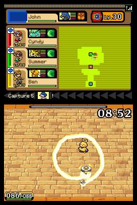 Pokemon Ranger: Guardian Signs Screenshots
