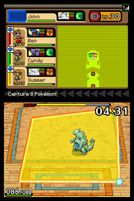 Pokemon Ranger: Guardian Signs Screenshots