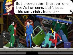 Ghost Trick: Phantom Detective Screenshots