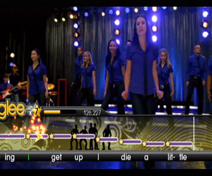Karaoke Revolution Glee Chat