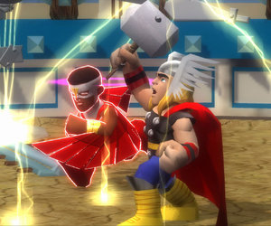 Marvel Super Hero Squad: The Infinity Gauntlet Screenshots