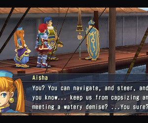 Ys Seven Chat