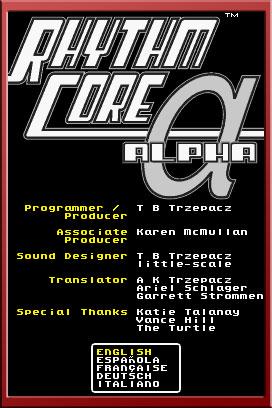Rhythm Core Alpha Screenshots