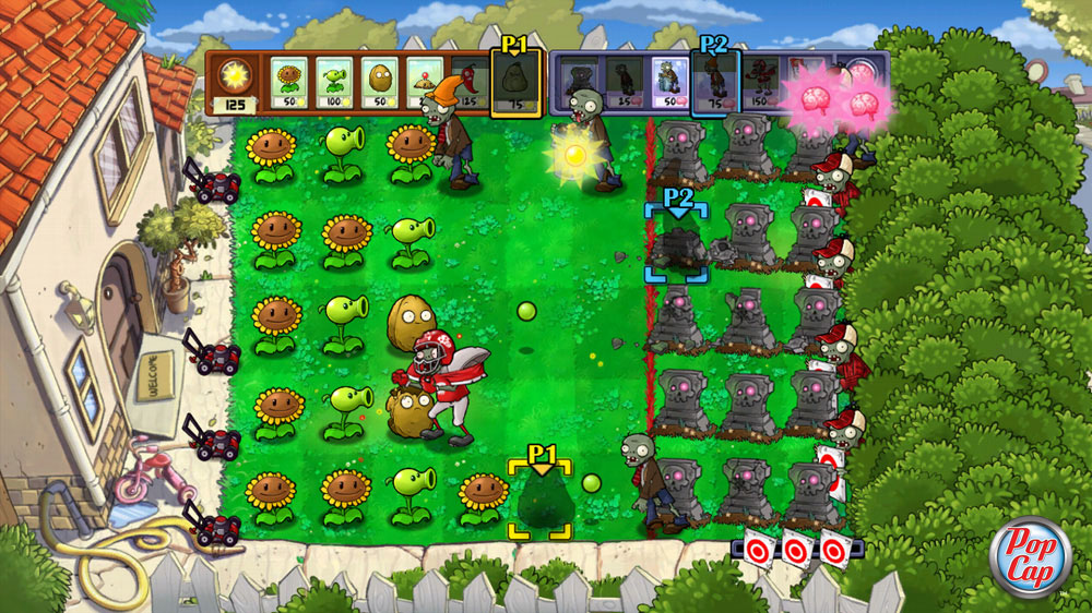 Plants vs zombies растения против зомби rus
