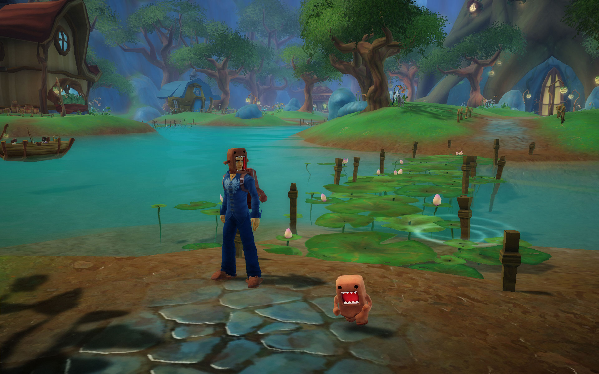 Free realms screenshots video game news videos and file downloads