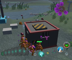 A Monsteca Corral: Monsters vs. Robots Screenshots