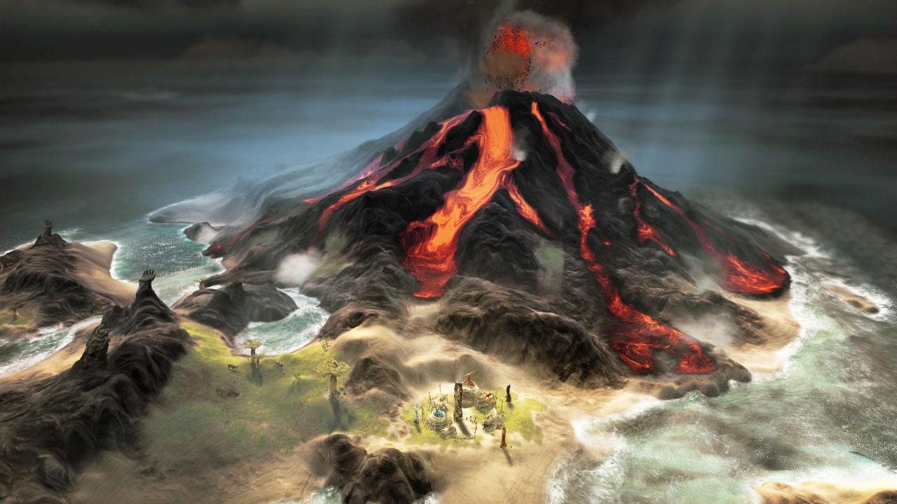 Будни бога в новом видео игры From Dust