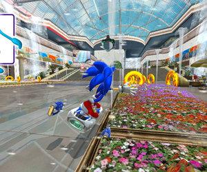 Sonic Free Riders Screenshots