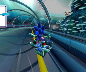 Sonic Free Riders Screenshots