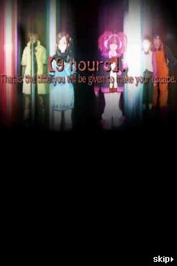 Nine Hours, Nine Persons, Nine Doors Chat