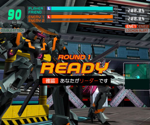 Cyber Troopers Virtual-On: Force Screenshots
