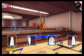 Shawn Johnson Gymnastics Screenshot from Shacknews