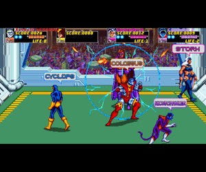 X-Men Arcade Screenshots