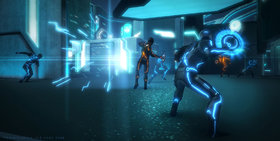 Tron: Evolution Screenshot from Shacknews