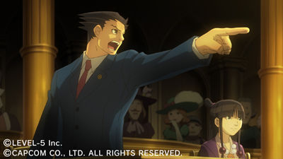 Professor Layton vs Ace Attorney Chat