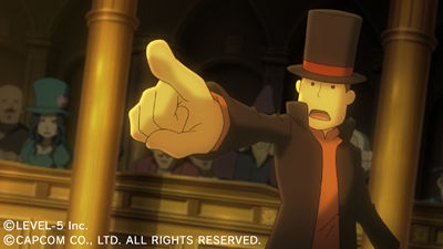Professor Layton vs Ace Attorney Files