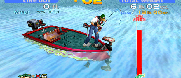 SEGA Bass Fishing News