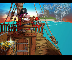 Woody Two-Legs: Attack of the Zombie Pirates Screenshots