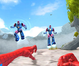 Marvel Superheroes 3D: Grandmaster's Challenge Screenshots