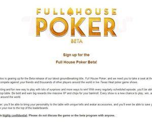 Full House Poker Chat