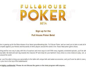 Full House Poker Screenshots