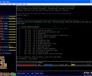 Alter Aeon Screenshots