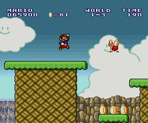 Super Mario All-Stars Wii Screenshots
