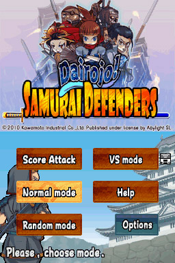Dairojo! Samurai Defenders Screenshots