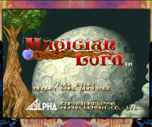 Magician Lord Screenshots
