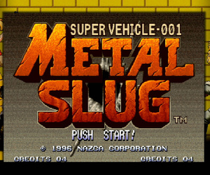 Metal Slug Screenshots