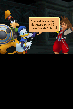Kingdom Hearts Re:coded Chat