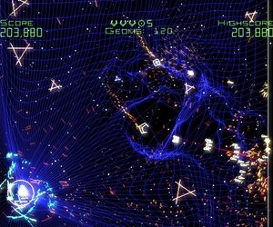 Geometry Wars: Galaxies Chat