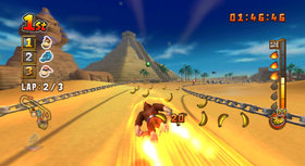 Donkey Kong Barrel Blast Screenshot from Shacknews