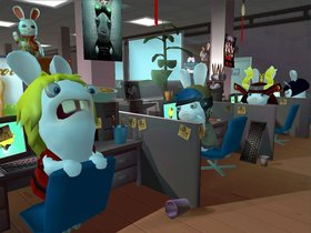 Rayman Raving Rabbids 2 Screenshot from Shacknews