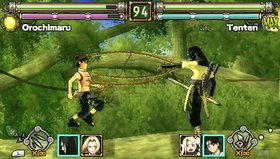Naruto: Ultimate Ninja Heroes Screenshot from Shacknews
