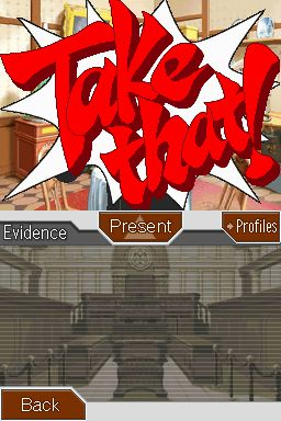 Phoenix Wright: Ace Attorney - Trials and Tribulations Chat