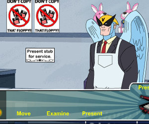 Harvey Birdman: Attorney at Law Screenshots