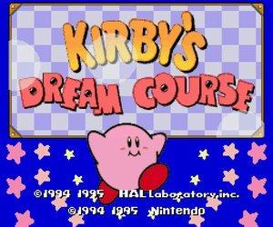 Kirby's Dream Course Videos