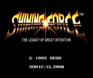 Shining Force Videos